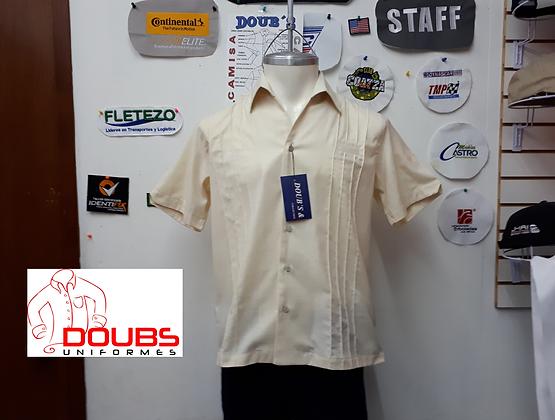 Camisas Lino Cancun Hueso