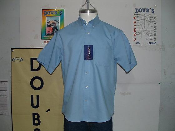 Camisas Color Celeste
