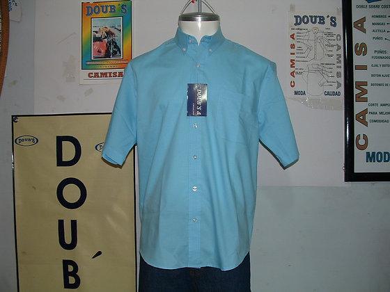 Camisas Color Aqua