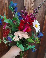 Blooms for the farm stand tomorrow._Ceri
