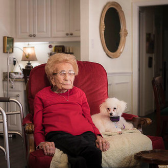 Granny and her Dog