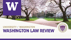 University of Washington Law Review