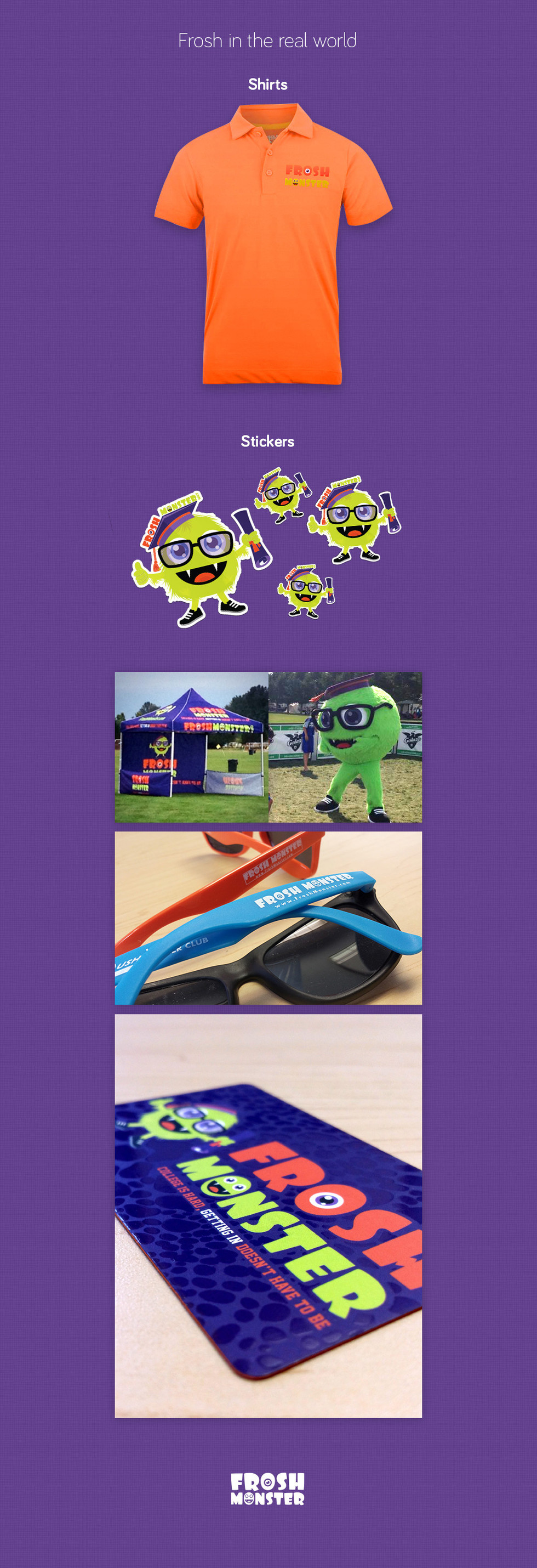 Frosh Monster Accessories and Promotional Assets