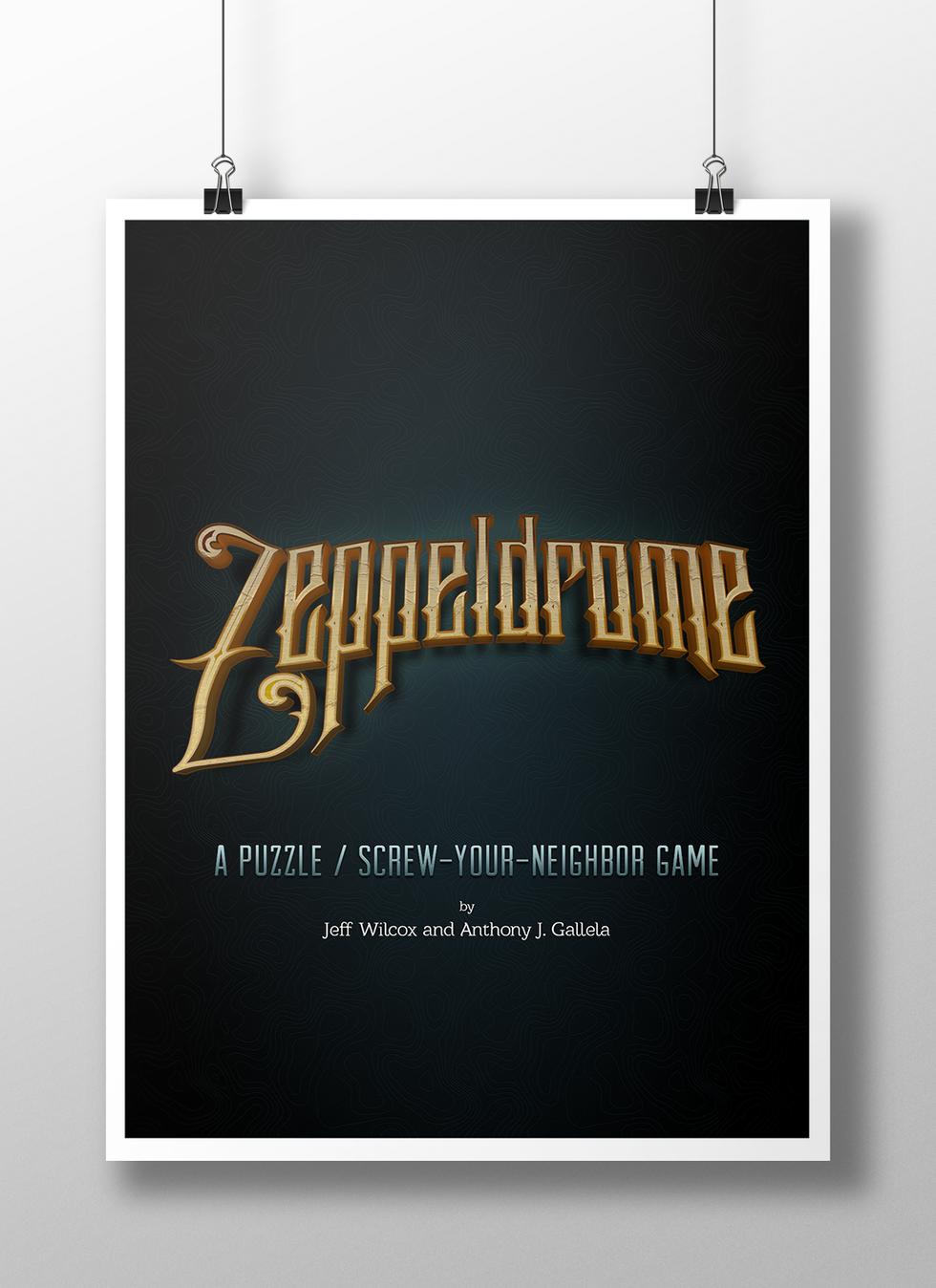 Zeppeldrome Logo Display