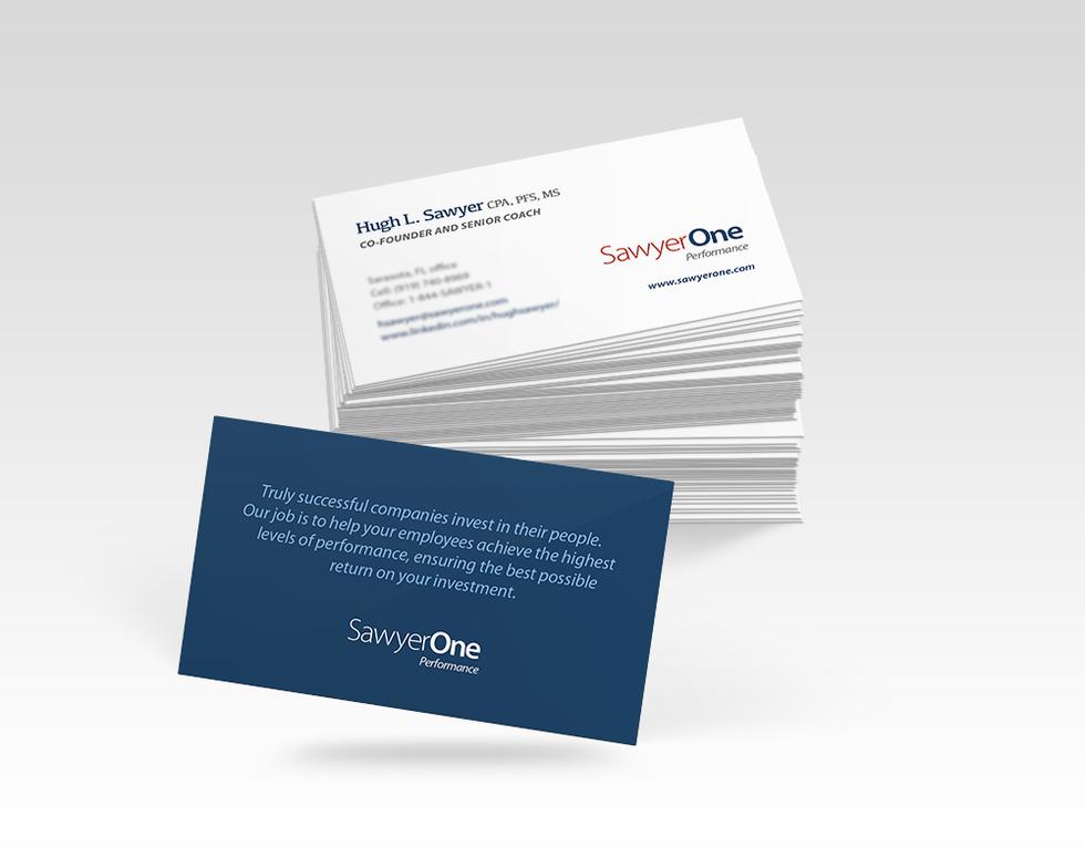 SawyerOne Business Cards
