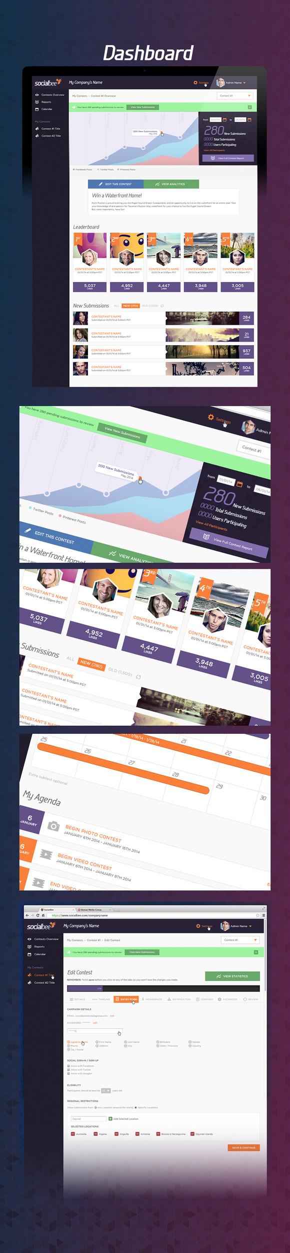 SocialBee Dashboard
