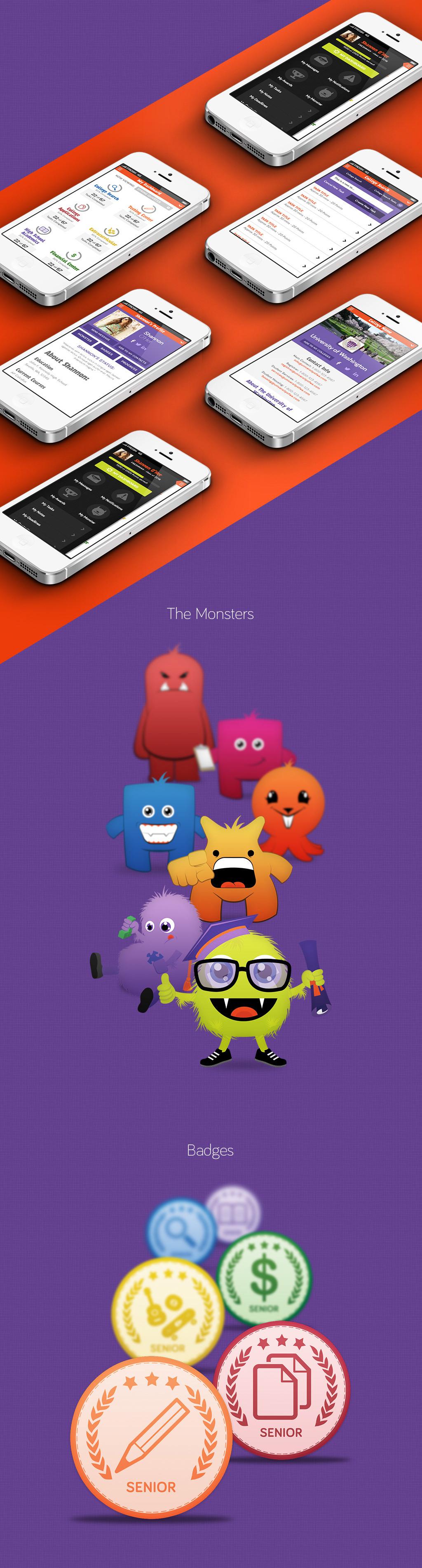 Frosh Monster Mobile Screens