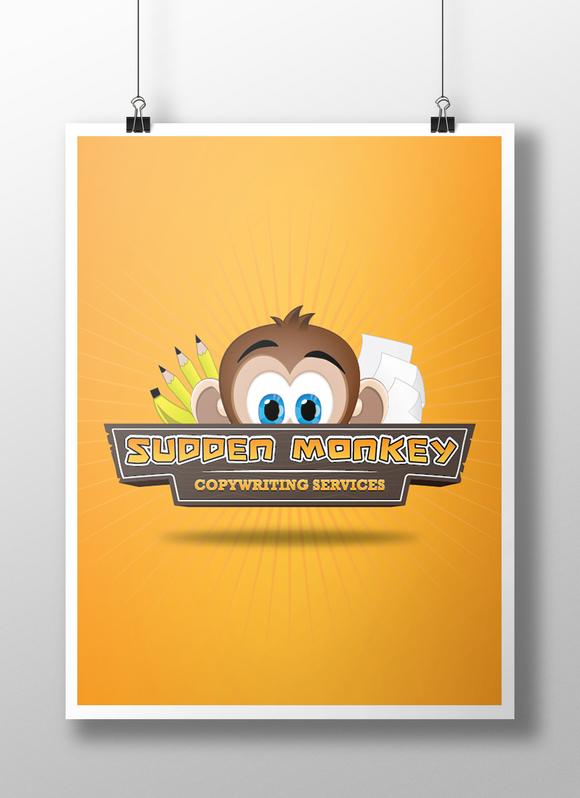 SuddenMonkey Logo Presentation