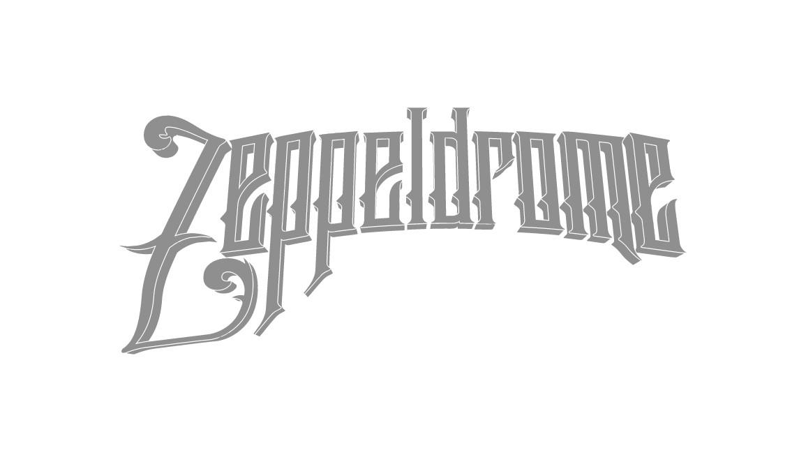 Zeppeldrome Logo Flat Vector