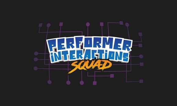 Performer Interaction Rough Logo Concept