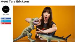 Meet Tara Erickson (VOYAGE MAGAZINE)