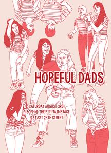 """Hopeful Dads"" Promotional Poster"