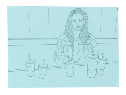 Maggie and Her Beverages