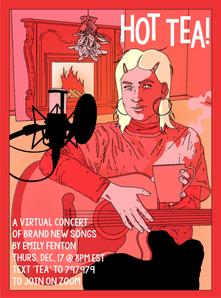 Hot Tea Digital Promotional Poster