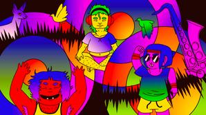 "Them ""Music"" Article Illustration"