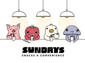 Sundays Postcard Design