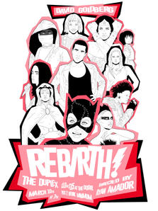 "David Goldberg's ""Rebirth!"" Promotional Poster"
