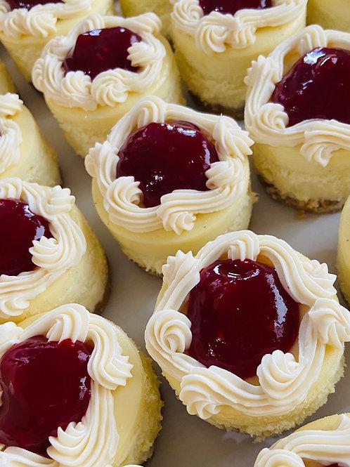 Mini Cheesecakes (18 qty)