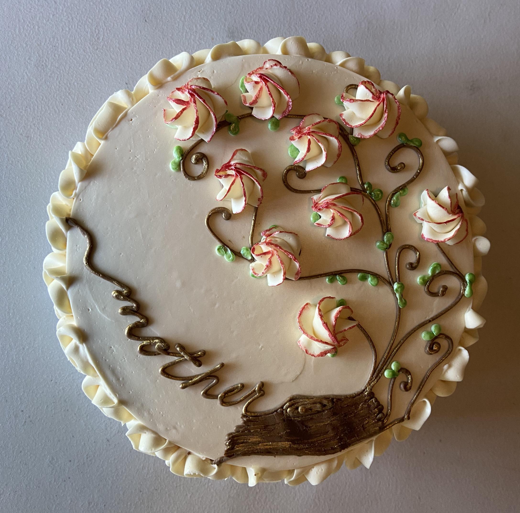 Custom-Designed Cake