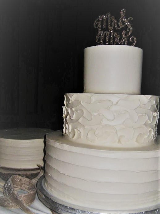 3-Tier Wedding Cake