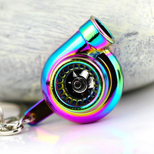 Neochrome Turbo Keychain