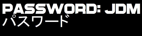 Password: JDM