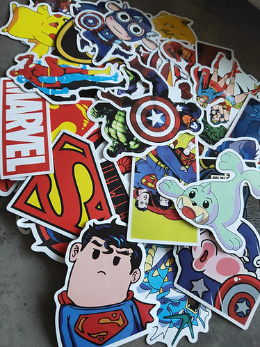 Assorted lucky dip sticker pack