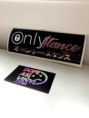 Only Stance