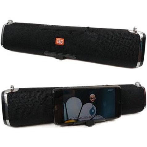 Parlante portable con soporte p/Celular Bluetooth
