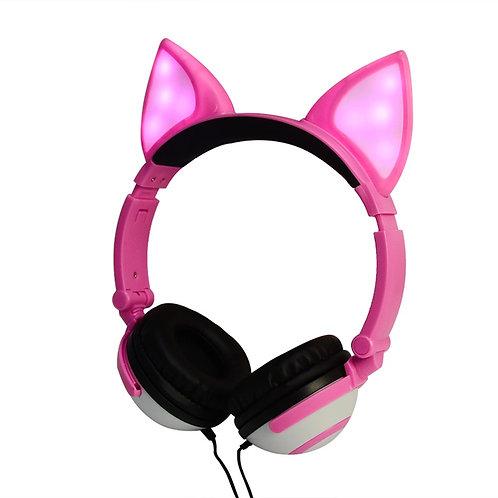 Audífonos orejitas c/Cabe Luces Ajustables