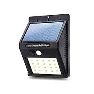 Reflector Exterior Solar 30 Led C/sensor De Movimiento
