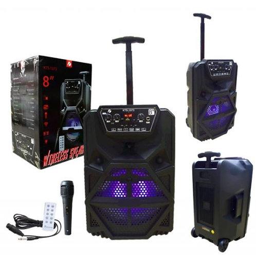 PARLANTE BLUETOOTH PORTATIL/AUX/USB/MICROFONO/RADIO