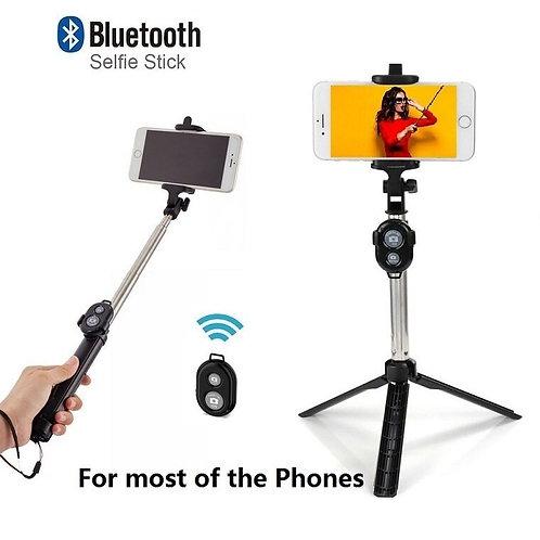 Palo Para Selfie Bluetooth inalámbrica obturador control remoto trípode