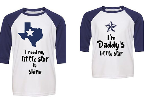 Father-Child connection -Texas Star Design