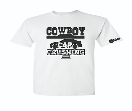 Cowboy Car Crushing with Car