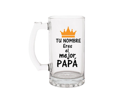Mejor Papá Beer Mug