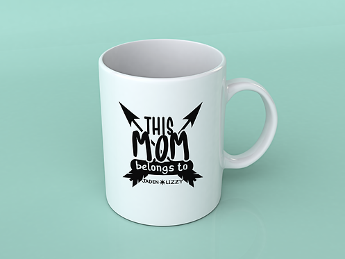 copy of Mom Boss Coffee / Tea Mug (White)