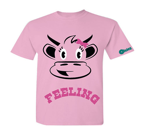 Moootivated Cow  - Girl T-shirt