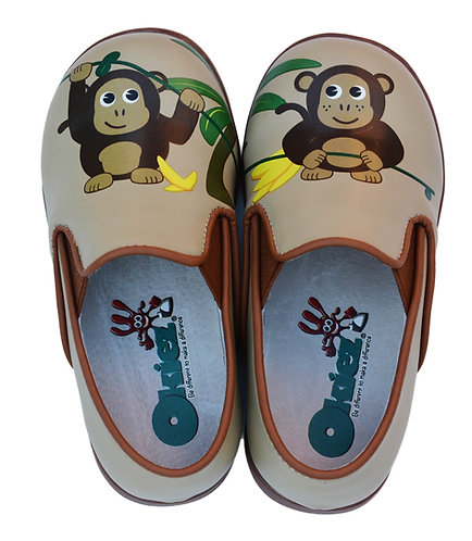 Funny Monkeys - Brown Shoes