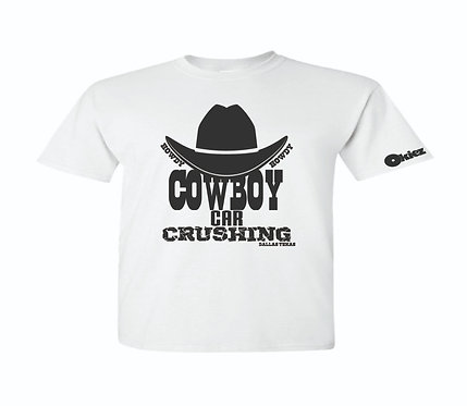 Cowboy Car Crushing with Hat
