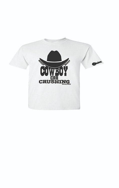 Cowboy Car Crushing with Hat for Children