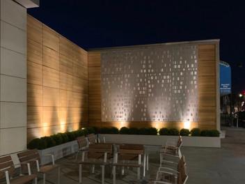 NYU Winthrop Research Institute Courtyard LED Lighting