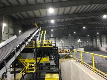 The Lancaster, Pennsylvania Facility LED High Bay Install