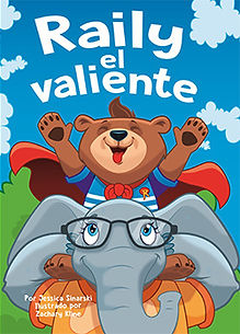 Riley the Brave Spanish Book cover
