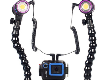 Weefine Diver Go-1 Pro Underwater Video Camera and Flare System Field Test