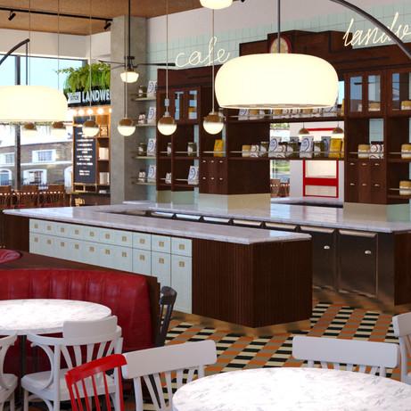 Landwer Restaurant - Toronto, Canada
