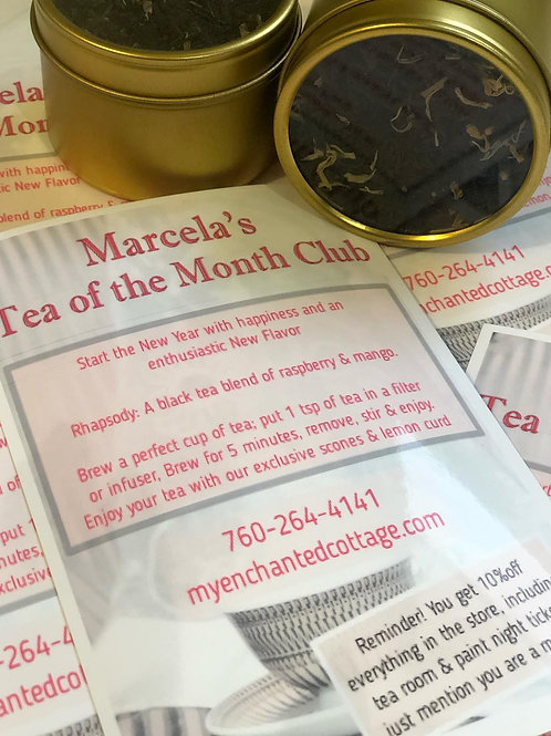 Marcela's Tea of the Month Club
