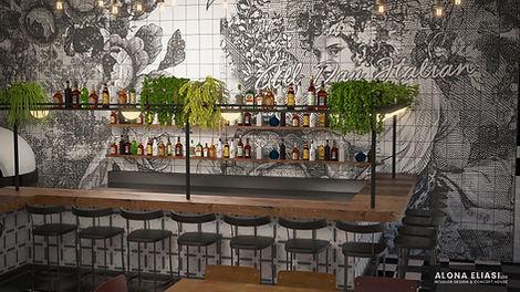 Gumygam 3D Restaurant Render