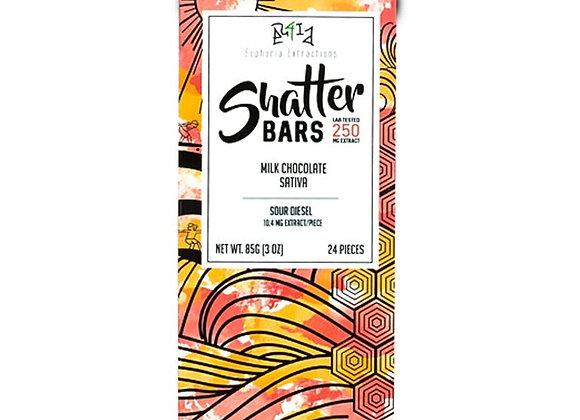 Milk Chocolate Sativa Shatter Bar