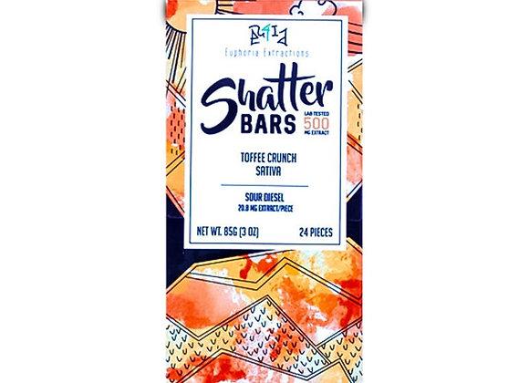 Vegan Dark Chocolate Sativa Shatter Bar